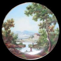 """Настенные тарелки """"Природа Италии, 4 времени года"""""""
