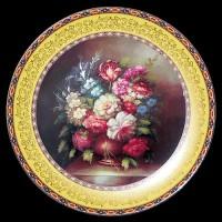 """Настенные тарелки """"Букет цветов"""""""