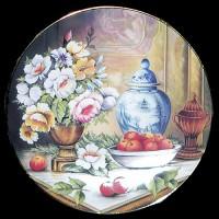 """Настенные тарелки """"Коллекция ваз"""""""