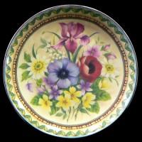 """Настенные тарелки """"Цветы"""""""